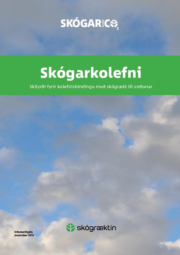 Forsíða bæklingsins