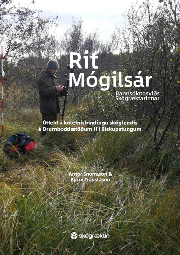 Forsíða Rits Mógilsár 42/2021