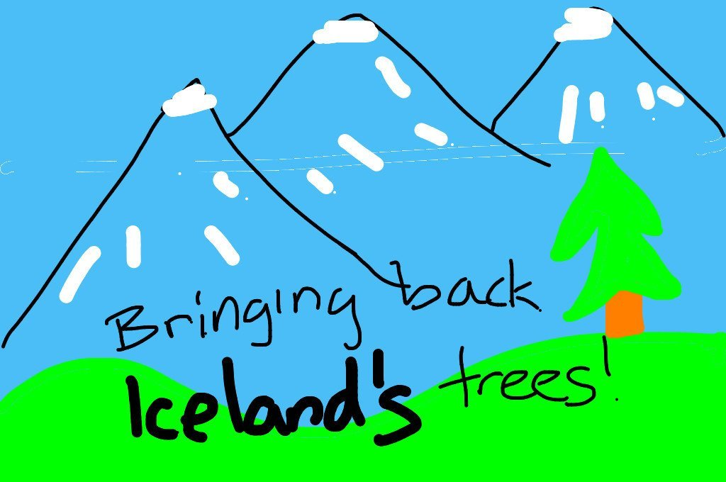 Bring back Iceland's trees! Image: Danielle/News-O-Matic