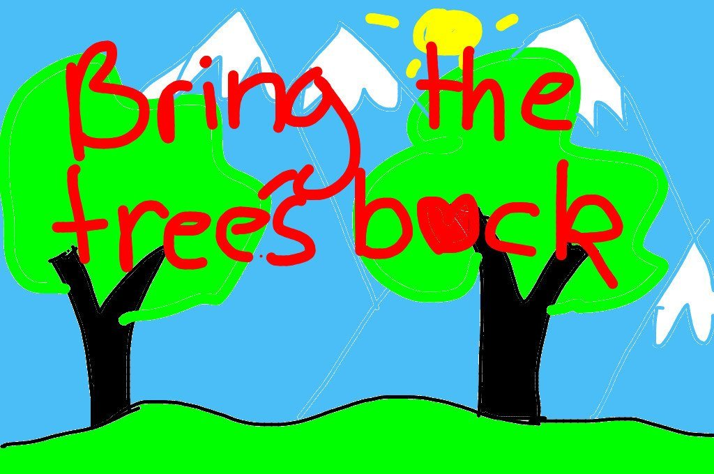 One of the most important tasks on Earth today. Also in Iceland. Bring the trees back! Image: Renee (11) / News-O-Matic